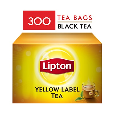 Lipton Yellow Label Teabags (8x300TB) - Lipton knows how to create that