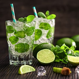Mint Lime Iced Tea